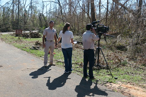 Interview at Florida Caverns State Park