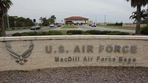 MacDill AFB front gate